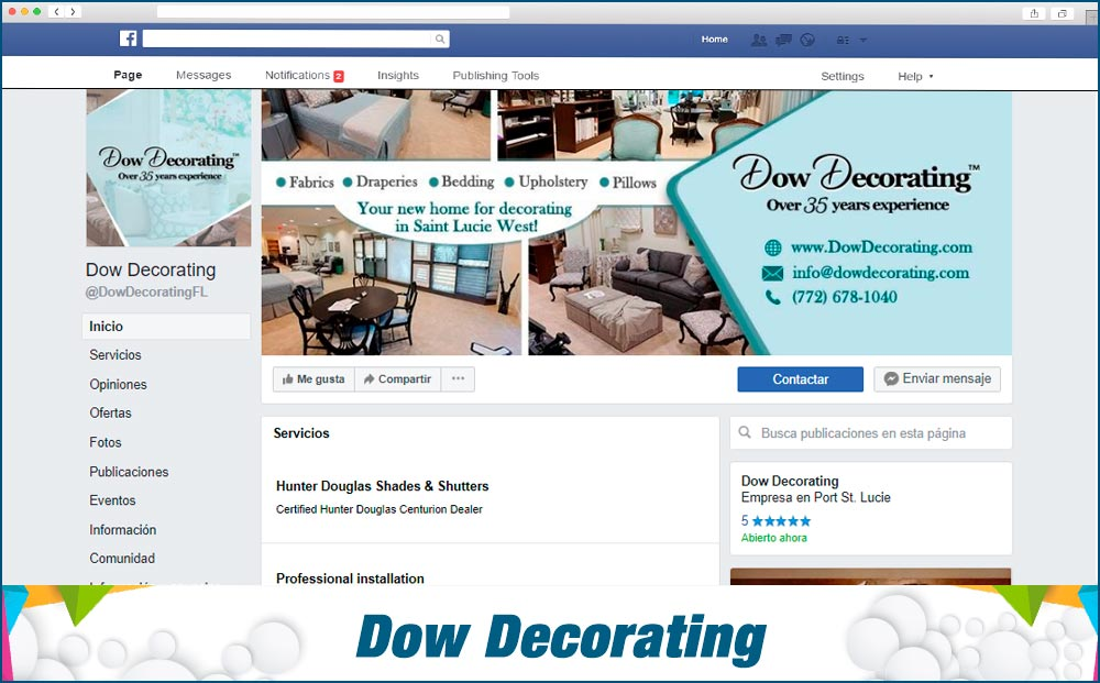 Dow-decorating