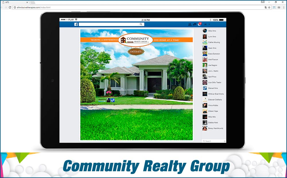 social-media-site-Community-Realty-Group